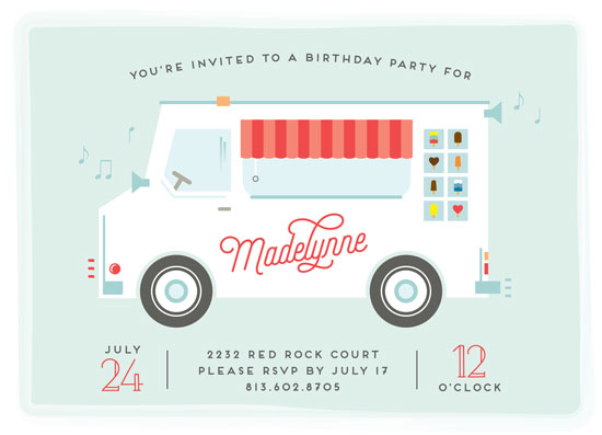 party invitations - We All Scream for Ice Cream! by Jennifer Postorino