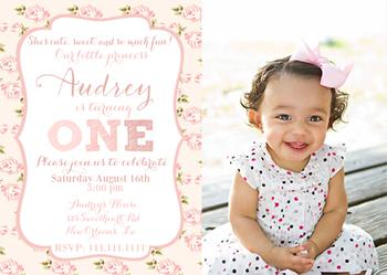 Shabby Chic Floral Print