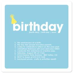 Definition of Birthday