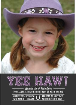 YEE HAW!  Girls