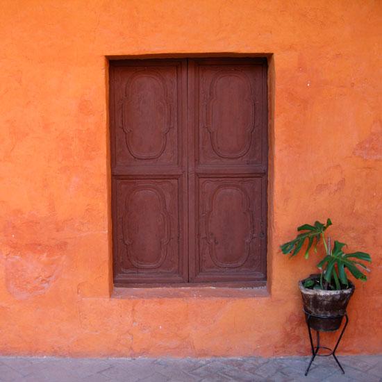 art prints - Orange Wall by Jessica Spector