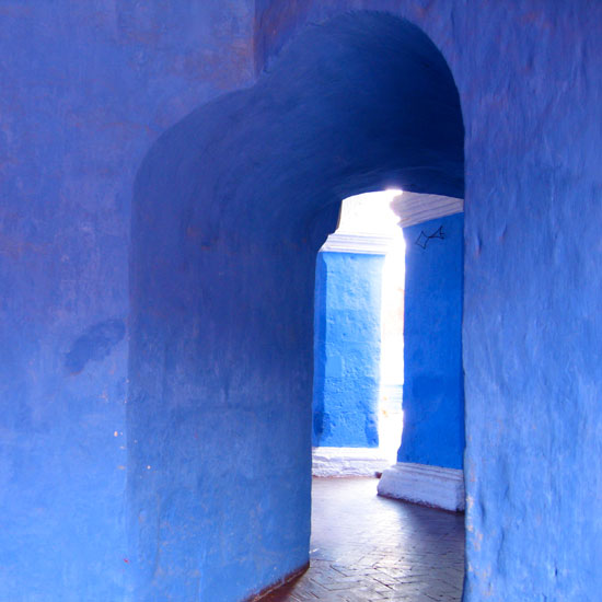 art prints - Blue Doorway by Jessica Spector