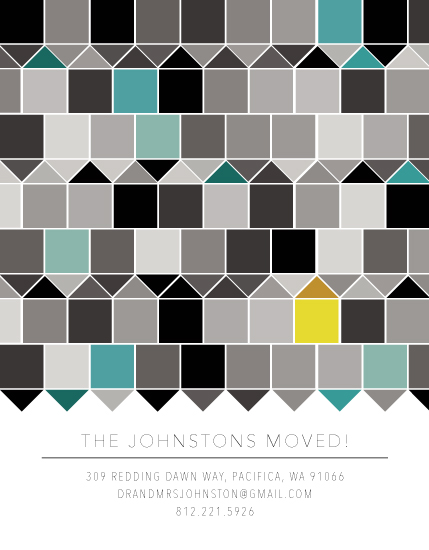 moving announcements - Golden House on the Block by Jessica Druxman