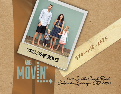 moving announcements - Movin' by Deanna Wardin
