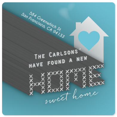 moving announcements - New home sweet home by Deanna Wardin