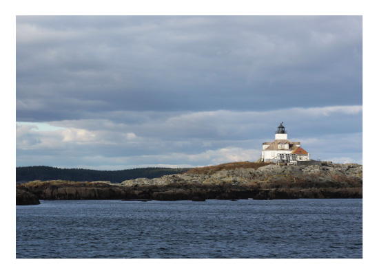 art prints - Lighthouse on the Water by Gray Star Design