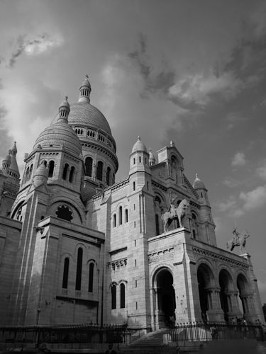 art prints - The Sacred Heart Cathedral in Paris by Shannon Jacobs