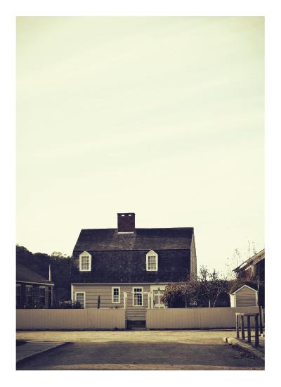 art prints - Village Cottage by Gray Star Design