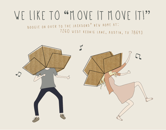 moving announcements - Move It Move It by Hanna Mac