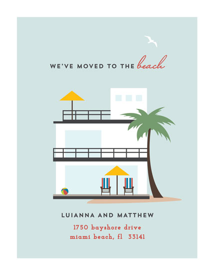 moving announcements - Life's A Beach by Jennifer Postorino