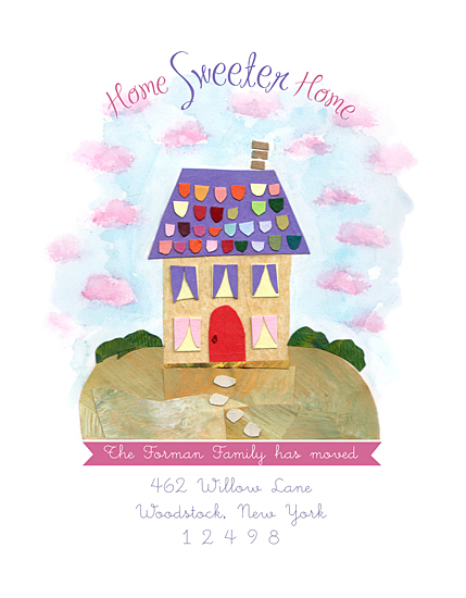 moving announcements - Home Sweeter Home by Naava Katz