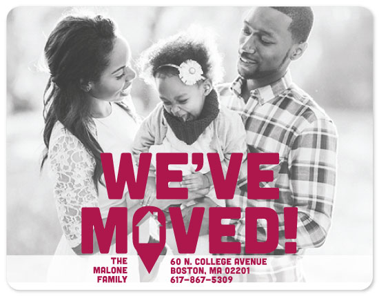moving announcements - We've Moved on the Map by Kristen DeAngelis