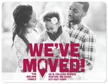 We've Moved on the Map by Kristen DeAngelis
