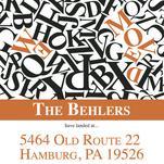 Word Scramble by Ashlee Behler