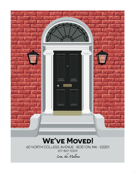 moving announcements - Welcome Home to the City by Kristen DeAngelis