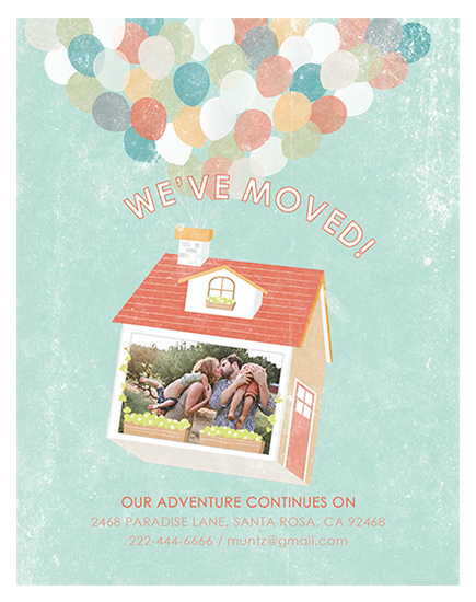 moving announcements - Our Adventure Continues by Juju Sprinkles
