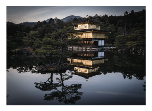 art prints - The Golden Pavilion by Canary Collections