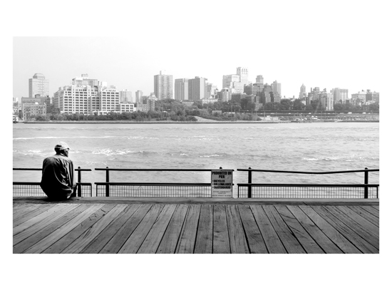 art prints - NYC Viewpoint by Debra Pruskowski