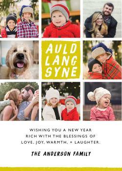 Modern Auld Lang Syne