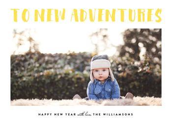 To New Adventures