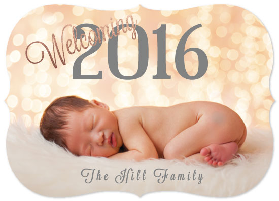 new year's cards - Welcoming 2016 by Amanda Hill