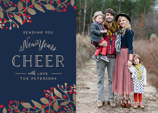 new year's cards - New Years Cheer by Chris Griffith