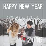 Bold Happy New Year by Amanda Hill