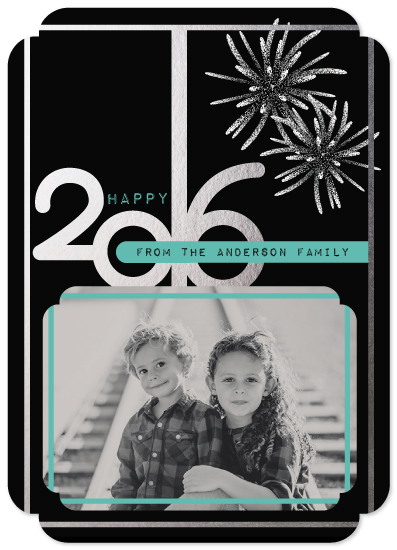 new year's cards - Happy 2016, Photo card with a Spark! by Deanna Wardin