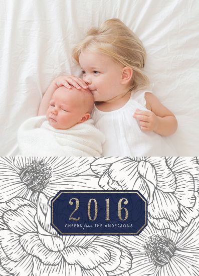 new year's cards - The Garden by Elly