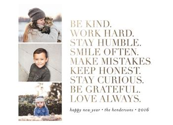 An Inspired New Year :: A Manifesto