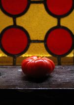 The lone tomato by Lauren Ehle