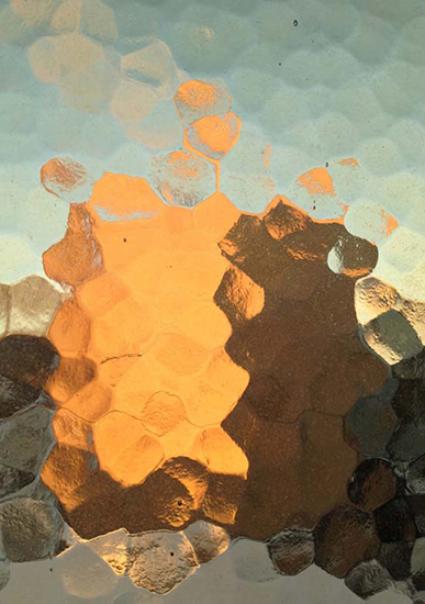 art prints - Hammered Glass Sunrise by Lauren Ehle
