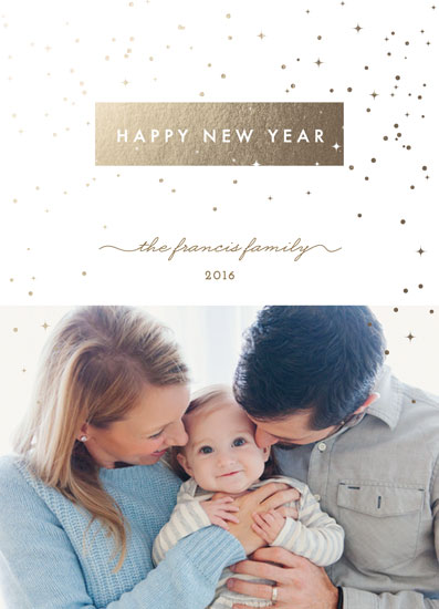 new year's cards - Shimmer by Jennifer Postorino
