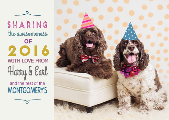 new year's cards - Sharing the Awesomeness by Rebecca Humphreys