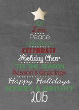 Chalkboard Holiday Tree by KAD Designs