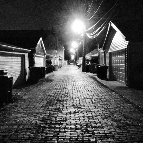 art prints - Back Alley by Lauren Ehle