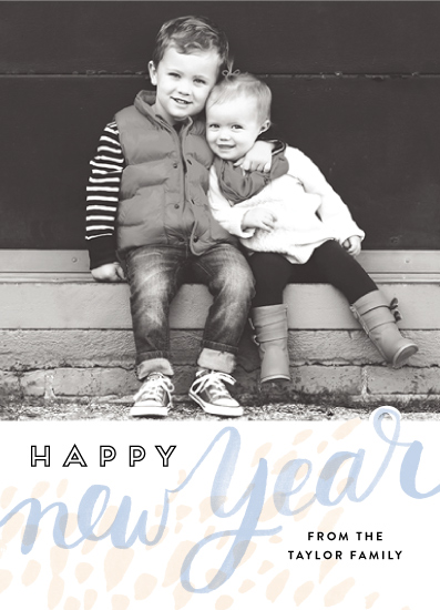 new year's cards - Lightly Abstracted by Alethea and Ruth