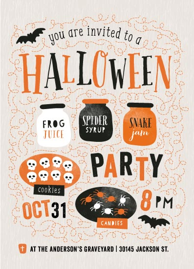 digital invitations - Let's Get Spooky! by iamtanya