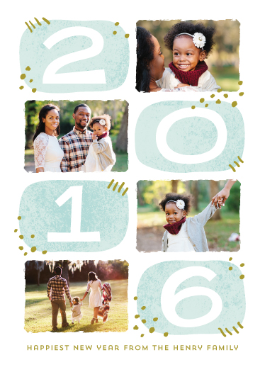 new year's cards - Hip New Year by Laura Hankins