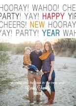 Hooray for a New Year by April Lammers