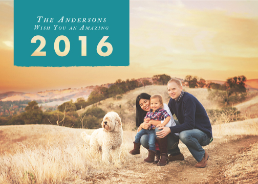 new year's cards - An Amazing 2016 by Maria Olivo