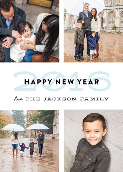 new year's cards - Layered Year by Genna Blackburn