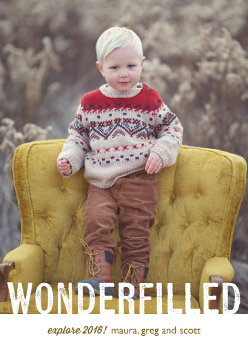 new year's cards - Wonderfilled by Melissa Casey