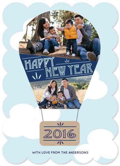 new year's cards - Up, up up and away! by Tarryn Lee