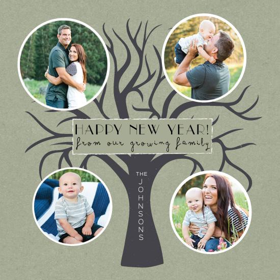 new year's cards - Family Tree by Amanda Majorsky
