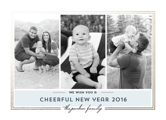 new year's cards - cheerful2016 by Anupama