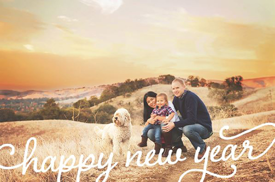 new year's cards - A New Start by Beck and Cantor