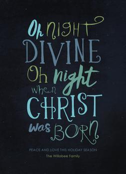 Oh Night Divine