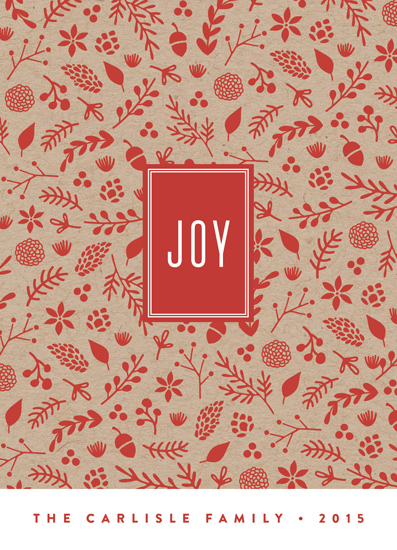non-photo holiday cards - Boxed Joy by Erica Krystek