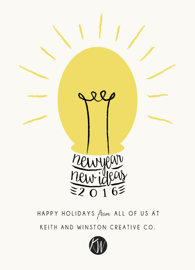 business holiday cards - Bright Ideas by Elly